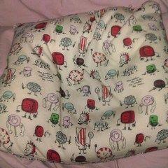 Pillow Made From An Old Shirt