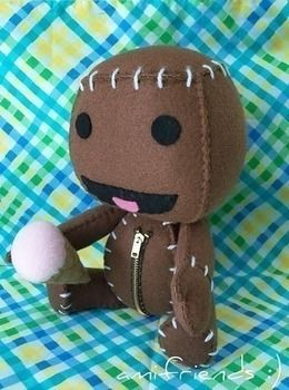 .  Make a Sackboy plushie by sewing Inspired by creatures and kawaii. Version posted by amifriends. Difficulty: Simple. Cost: Cheap.