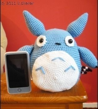Then you'll be with Totoro.. To.To.Ro. .  Make a bear plushie by crocheting and amigurumi with felt, crochet hook, and wool. Inspired by my neighbor totoro and my neighbor totoro. Creation posted by MizzzZim. Difficulty: 3/5. Cost: Cheap.