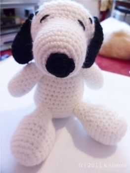 Just needs a kennel now .  Make a beagle plushie in under 180 minutes by crocheting and amigurumi with needle, crochet hook, and wool. Creation posted by MizzzZim. Difficulty: 3/5. Cost: No cost.
