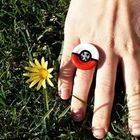 Pokébutton Ring
