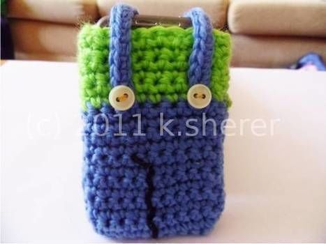 Mamma Mia!! .  Stitch a knit or crochet pouch in under 90 minutes by yarncrafting and crocheting with buttons, crochet hook, and wool. Inspired by super mario. Creation posted by MizzzZim. Difficulty: Simple. Cost: Cheap.