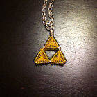 Triforce!!! From Wire, Beads, And Thread