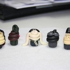 Suckerpunch Character Cupcakes
