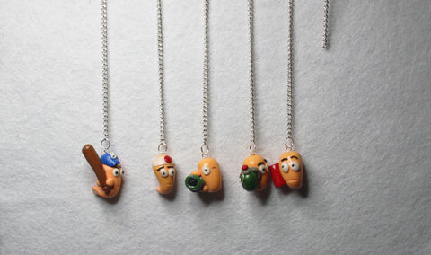 Incoming! Requests Wanted! .  Sculpt a clay character charm in under 180 minutes by beading, jewelrymaking, and molding with clay and eye pins. Inspired by creatures, vintage & retro, and worms. Creation posted by Art Z. Difficulty: Simple. Cost: Cheap.