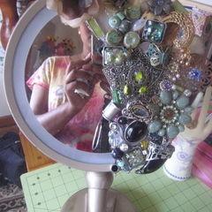 Sparkly Makeup Mirror