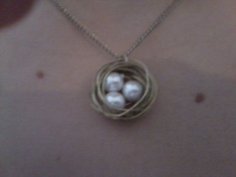 .  Make a wire necklace in under 20 minutes by beading and wireworking Inspired by birds, bird nests, and bird nests. Version posted by Audrey :) S. Difficulty: Easy. Cost: 3/5.