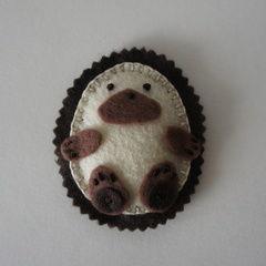 Hedgehog Brooch