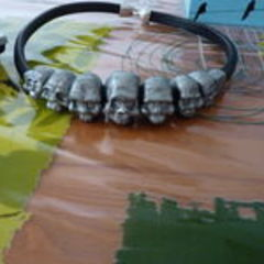 Skull Beads Necklace !