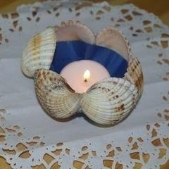 Seashell Tealight Holders