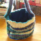 Peg Loom Weaving Bag