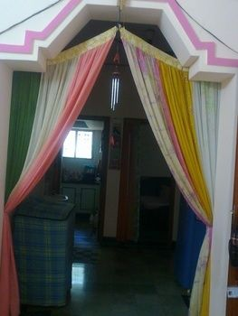 .  Make a curtain/blinds in under 60 minutes by creating, decorating, needleworking, sewing, and patchworking Inspired by people and clothes & accessories. Version posted by Vandana J. Difficulty: Simple. Cost: No cost.