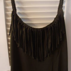 Braided Fringe Tank (Version Of Boston Proper's Garment)