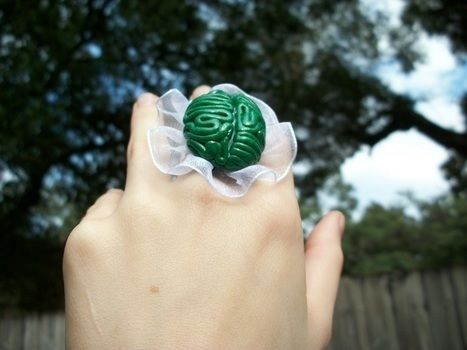 .  Make a clay ring in under 60 minutes by constructing, jewelrymaking, and molding Inspired by lolita, gothic, and clothes & accessories. Version posted by Sally M. Difficulty: Easy. Cost: Cheap.