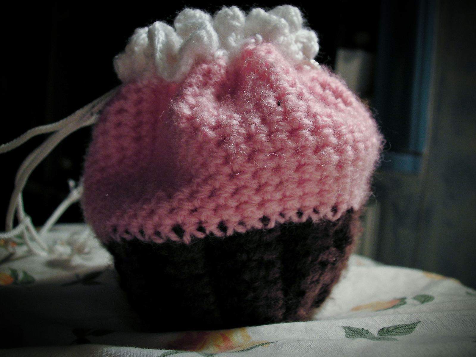 Crocheted Cupcake Bag/Purse · A Knit Or Crochet Bag · Crochet on Cut ...