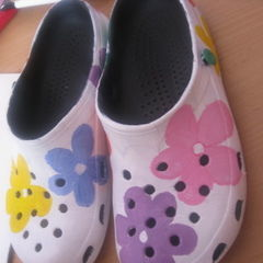 Flower Power = Crocs ^.^