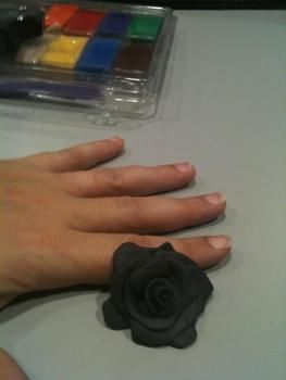 Mama's spoils .  Make a fabric ring in under 60 minutes by jewelrymaking, potting, not sewing, and sewing with wire, lace, and super glue. Inspired by gothic, flowers, and flowers. Creation posted by Sister Walker. Difficulty: Easy. Cost: Cheap.