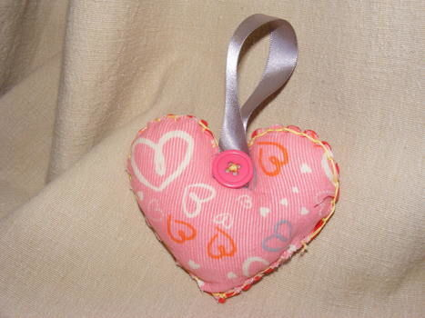 Full of love (and stuffing) .  Free tutorial with pictures on how to make a shape plushie in under 20 minutes by sewing with ribbon, stuffing, and needle & thread. Inspired by hearts and hearts. How To posted by bindiibabe. Difficulty: Easy. Cost: Absolutley free. Steps: 7