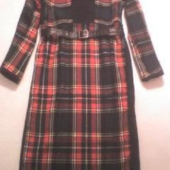 Plaid Winter Dress
