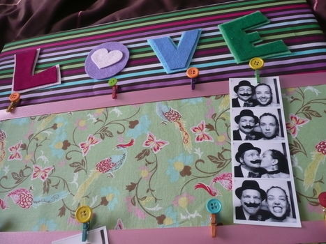 A cute way to display some of your favourite images .  Free tutorial with pictures on how to make a picture board in under 150 minutes by pegboarding and decorating with felt, ribbon, and buttons. How To posted by Alison B. Difficulty: Easy. Cost: 3/5. Steps: 21