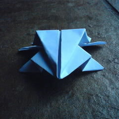 Little Jumping Frog Origami
