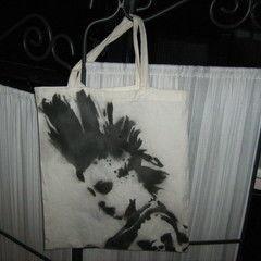 Punk Rock Stenciled Bag