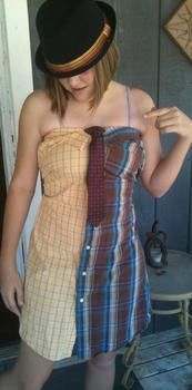 .  Recycle a skirt into a dress in under 120 minutes Version posted by Sister Walker. Difficulty: Simple. Cost: Cheap.