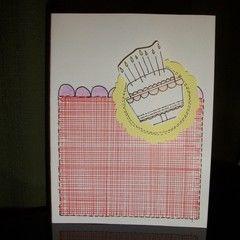 Birthday Cake Card