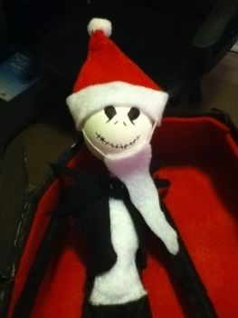 ~*Nightmare Before Christmas*~ .  Make a food plushie in under 135 minutes by drawing, sewing, and decorating with felt, thread, and glue. Inspired by domo kun, domo kun, and domo kun. Creation posted by :). Difficulty: 3/5. Cost: Absolutley free.