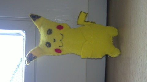 .  Make a Pokemon plushie in under 180 minutes Inspired by pokemon and pikachu. Version posted by kessgaveithell. Difficulty: Simple. Cost: Absolutley free.