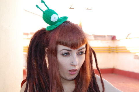 Crochet .  Make a character hat by hairstyling, crocheting, amigurumi, and knitting with yarn. Inspired by anime & manga, gothic, and costumes & cosplay. Creation posted by ArteinterrogantE. Difficulty: Simple. Cost: Cheap.