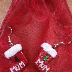 Christmas Fimo Charms