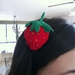 Cute Lil' Strawberry Pin