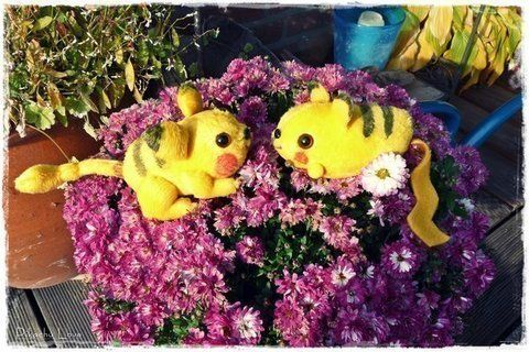 Perfect pet for a Pokemon Trainer .  Make a Pokemon plushie in under 60 minutes using fur. Inspired by pokemon, pokemon, and anime & manga. Creation posted by Plushbox. Difficulty: 3/5. Cost: 3/5.
