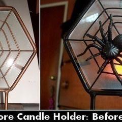 Revamped Spider Web Tealight