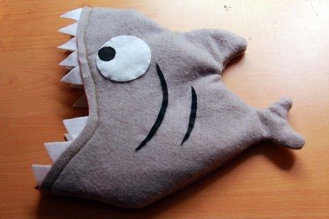 Our heads aren't safe .  Make an animal hat in under 180 minutes by drawing and sewing with felt, sewing machine, and sewing materials. Inspired by creatures and sharks. Creation posted by chela a. Difficulty: 3/5. Cost: Cheap.