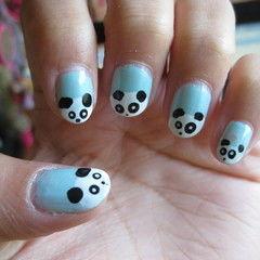 Panda Nails :D