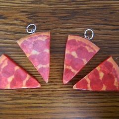 Pizza Necklace Charms!