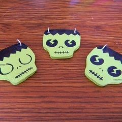Zombie Necklace Charms!