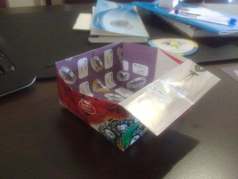 .  Fold an origami box in under 5 minutes by paper folding Version posted by Nilüfer . Difficulty: Easy. Cost: No cost.