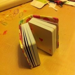 Mini Playing Cards Book
