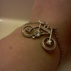 Bicycle Charm Bracelet