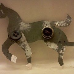 Paper Miniature Horse
