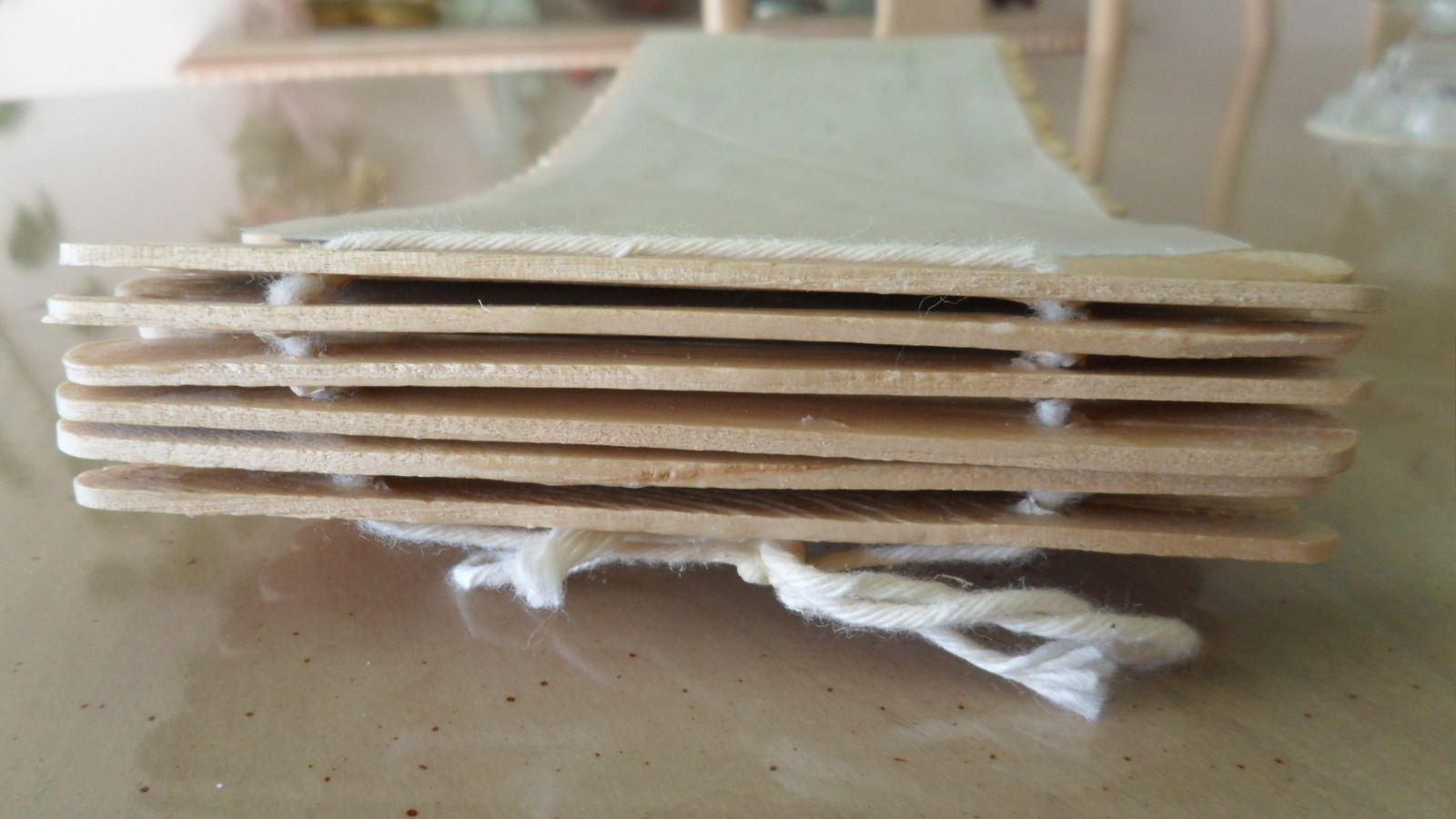 Popsicle Sticks Book · How To Make A Recycled Book ...