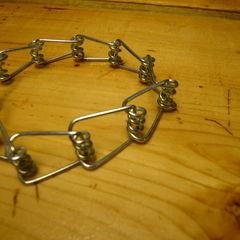 Clothes Pin Bracelet...Sort Of.