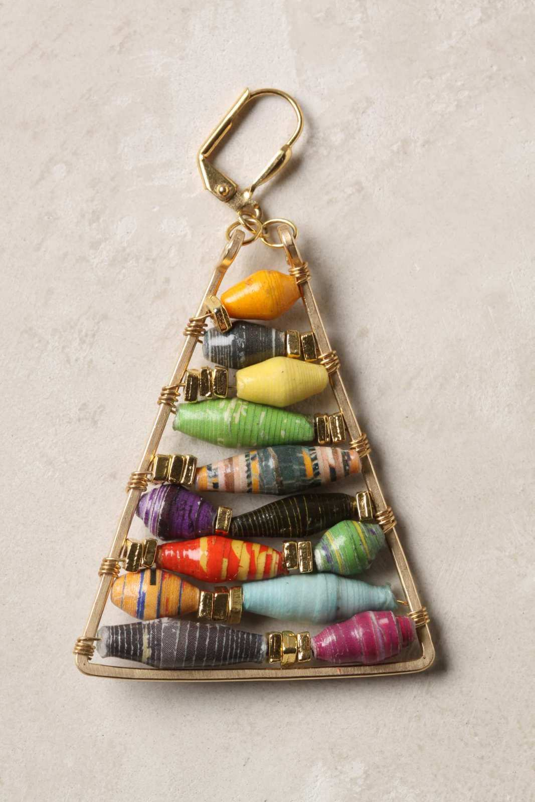 Anthropologie Inspired Paper Bead Earrings 183 How To Make A