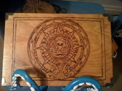 .  Sculpt a clay box by woodworking Inspired by monsters. Version posted by Katrina M. Difficulty: 3/5. Cost: 3/5.