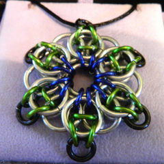 Knights Rose Pendant