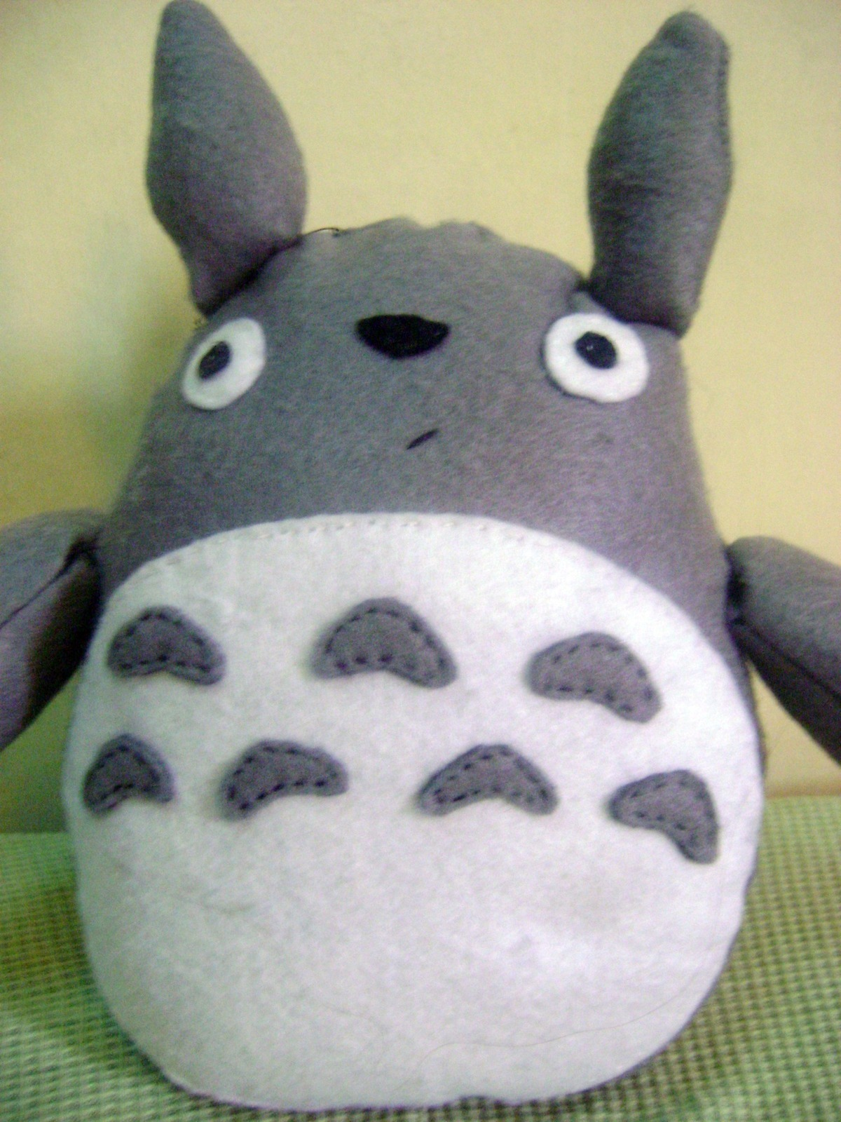 Totoro Plush 183 A Bear Plushie 183 Sewing On Cut Out Keep