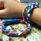 Wanna find out? Then come see this tutorial!!! :D .  Free tutorial with pictures on how to make a duct tape bracelet in 5 steps by braiding with clasps and duct tape. Inspired by clothes & accessories. How To posted by Sammi . Difficulty: Simple. Cost: Absolutley free.